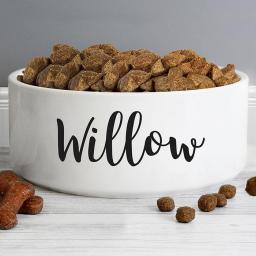 Personalised White Bowl
