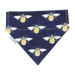 Navy Manchester Bee Bandana