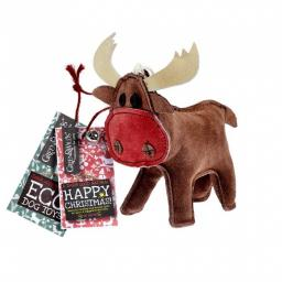 Rudy the Reindeer Eco Dog Toy