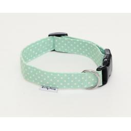 Dotty Collar in Mint