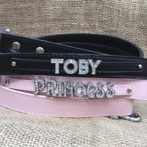 Personalised Leather Lead