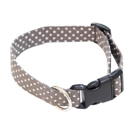 Dotty Collar in Grey