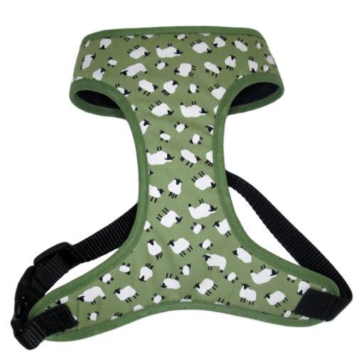 Green Sheep Harness